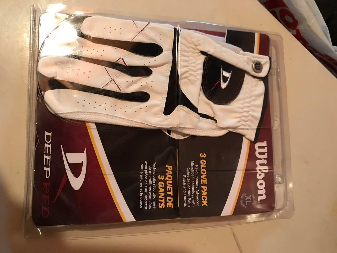 Wilson 3 Pack Men's XL Right Hand Gloves