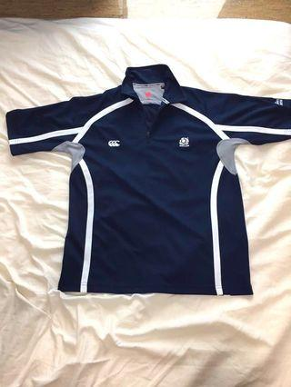 Old Scottish Rugby top + optional Hugo Boss shirt