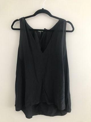 Babaton silk top - Size large