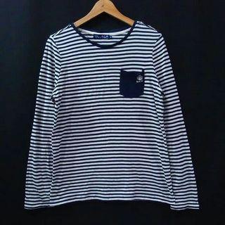 #mauthr stripe tshirt