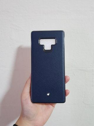 🚚 Montblanc Hard Case for Samsung Galaxy Note 9