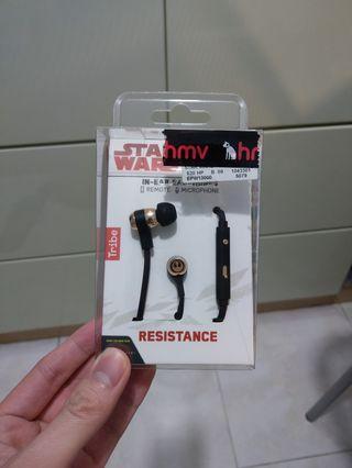 STARWARS earphone 耳機