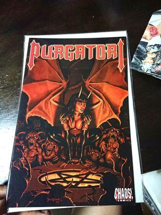 🚚 Purgatori: Empire - Reign of Blood // Chaos Comics