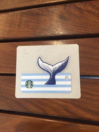 🚚 Starbucks Nautical Summer Card