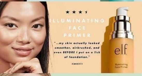 ELF Illuminating Face Primer