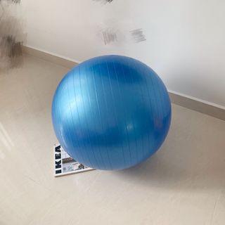 wts Yoga Ball / Gym Ball with inflator