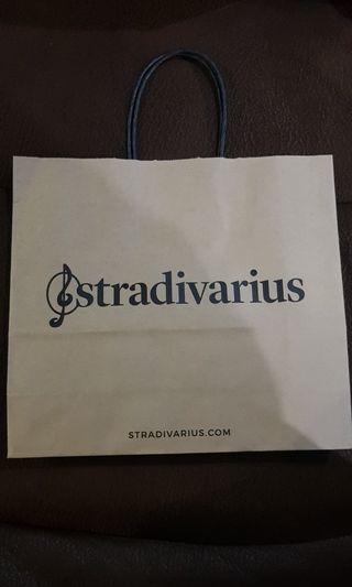 Paper Bag paperbag stradivarius