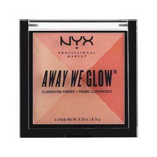 🚚 Nyx away we glow illuminating powder