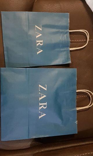 Paper bag paperbag zara