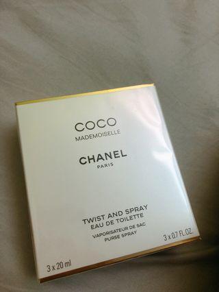Chanel coco mad 3x20ml