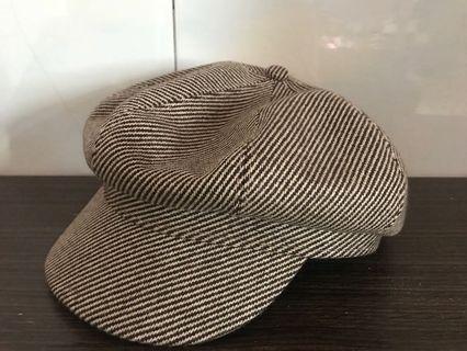 全新 百搭畫家帽 (布料材質 原價400