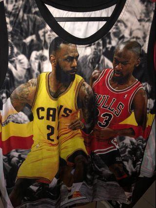 🚚 Vintage NBA Jordan & King Limited Edition Singlet