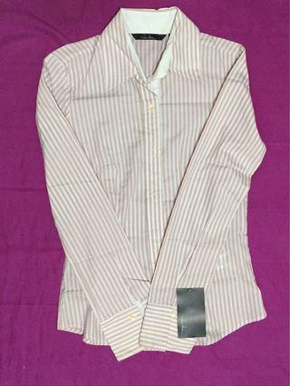 BNWT Zara Striped Shirt Size S