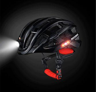 RockBros cycling helmet with light