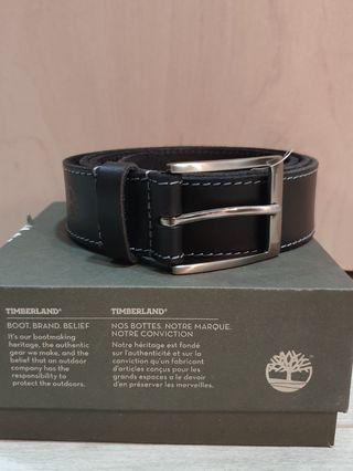 Timberland stitched tree emboss belt