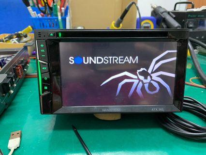 Soundstream Multi Audio Player for vehicle