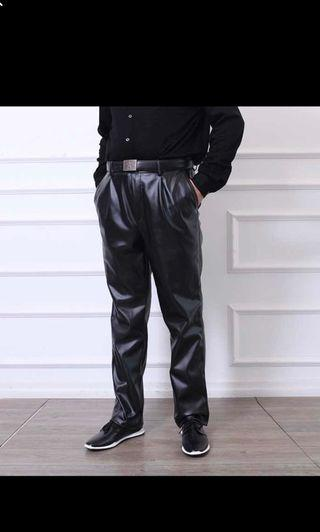 🚚 UNISEX Leather pants