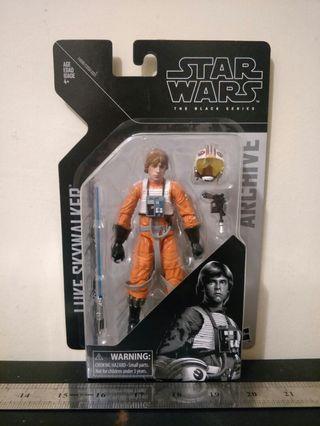 "Star Wars The Black Series Archive 6"" Luke Skywalker"
