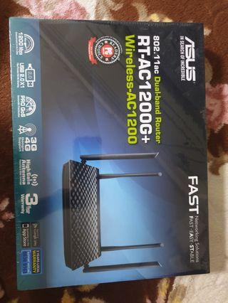 🚚 Sealed Asus RT-AC1200G+ Dual-Band Wireless Router