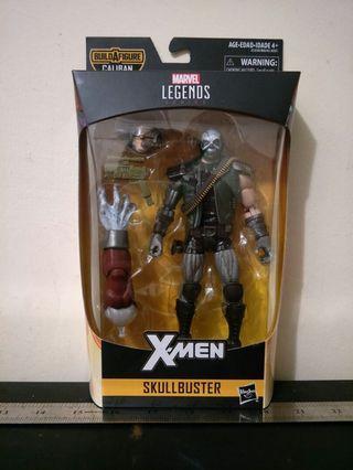 """Marvel Legends X-Men 6"""" inch SkullBuster (BAF CALIBAN)"""