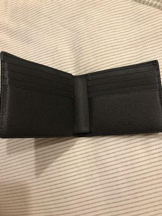Coach Leather Black Wallet
