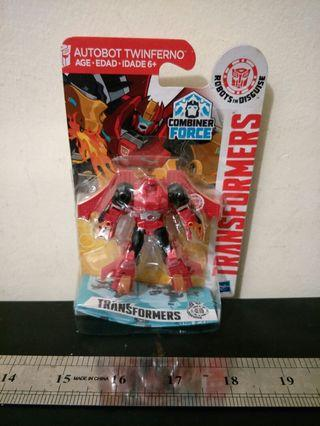 Transformers Combiner Force Legend Class Autobot Twinferno