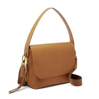 Lelong ❗Fossil maya large crossbody tan