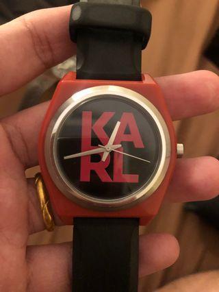 Jam tangan Merk KARL Authentic with box