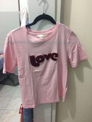 H&M Tee pink