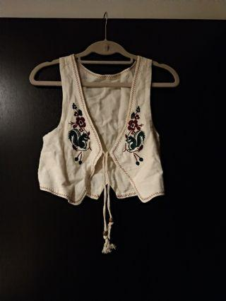 🚚 刺繡棉背心