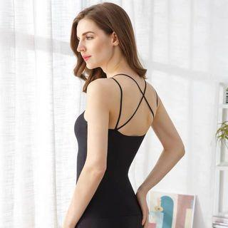 [👏🏼SLIM EFFECT!] Stretchable Sporty Sexy Cross Back Top
