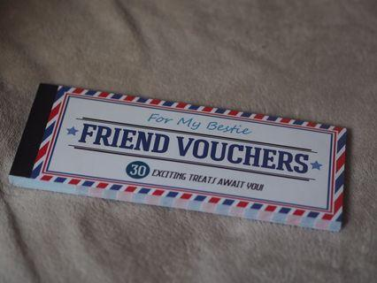 🚚 BEST FRIEND VOUCHERS