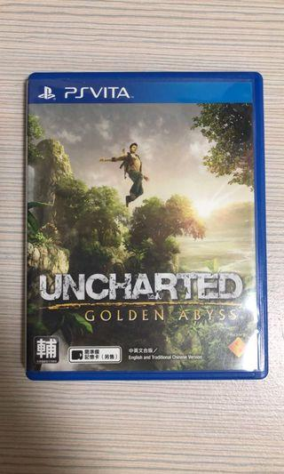 psv game Uncharted Golden Abyss 中文版