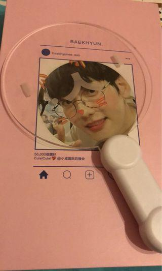 Exo baekhyun light stick