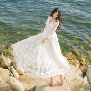 Lace Dress - White Dress