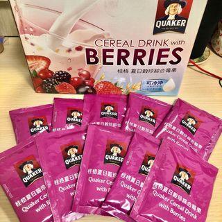 桂格夏日穀珍莓果