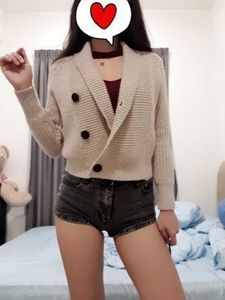 Knitted Elegant Outerwear