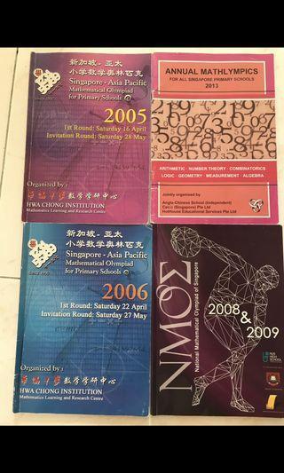 Mathlympics NMOS Maths Olympics past year