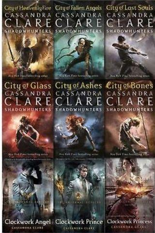 Mortal Instruments and infernal devices book set