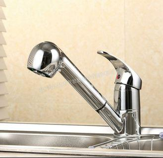 Kitchen faucet faucet spring cold and hot water mixing tap