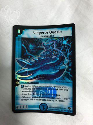 Duelmasters Emperor Quazla