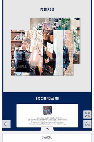 [WTS] BTS LOOSE MUSTER POSTER