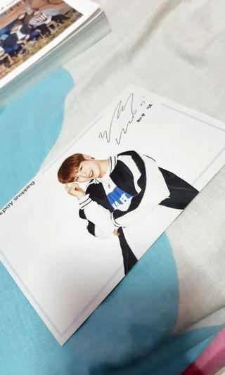 Ha sungwoon postcard Samsung