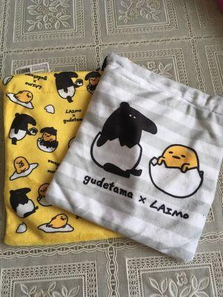 🚚 馬來貘&蛋黃哥豎口袋