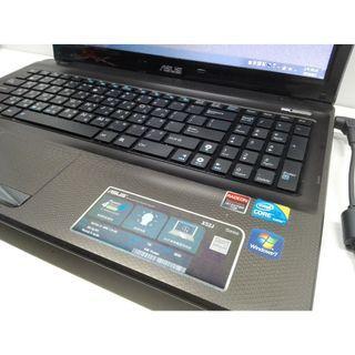 ASUS 華碩 Notebook 筆電 15.6吋 i3 獨立顯示卡 1GB WIN7 RAM 2GB HDD 500GB