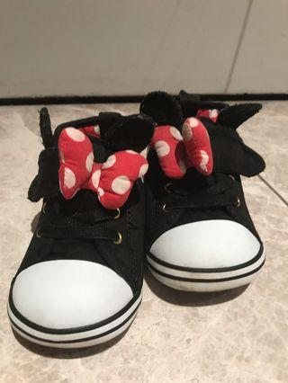 Baby converse Minnie Mouse Shoes