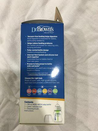 Dr Brown's Options milk bottle