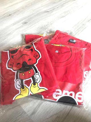 🚚 Supreme Mickey Unisex T-shirt