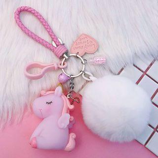 🚚 Unicorn Keychain