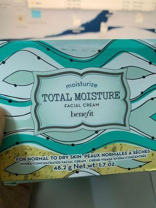 Benefit Total Moisture Facial Cream 深層保濕面霜